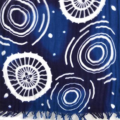雨傘くるり 藍